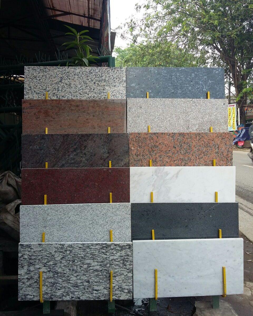 contoh marmer granit